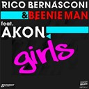 Beenie Man / Rico Bernasconi - Girls (feat. akon) - ep