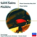 Camille Saint-Sa&euml;ns / Charles Dutoit / Francis Poulenc / Pascal Rog&eacute; / The Philharmonia Orchestra / The Royal Philharmonic Orchestra - Saint-sa&euml;ns: piano concertos nos. 2 &amp; 4/poulenc: 3 mouvements perp&eacute;tuels, etc.