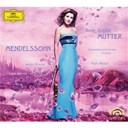 Andr&eacute; Previn / Anne-Sophie Mutter / Felix Mendelssohn / Gewandhausorchester Leipzig / Kurt Masur / Lynn Harrell - Mendelssohn: violin concerto op.64; piano trio op.49; violin sonata in f major (1838)