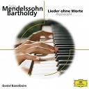 Daniel Barenboïm / Felix Mendelssohn - Mendelssohn: lieder ohne worte