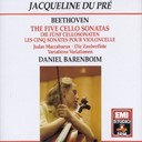 Jacqueline Dupré - The five cello sonatas