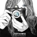Ladyhawke - Black white &amp; blue
