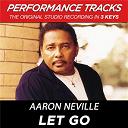 Aaron Neville - Let go (performance tracks) - ep