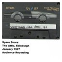 Spare Snare - The attic, edinburgh, january 1997