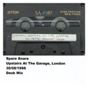 Spare Snare - Upstairs at the garage, london, 30.08.1996