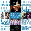 Billie Holiday / Bing Crosby / Dinah Washington / Duke Ellington / Ella Fitzgerald / Fats Domino / Gospel Dream / Louis Armstrong / Mahalia Jackson / Ray Charles / Sarah Vaughan / The Golden Gate Quartet - Les plus belles prieres du jazz