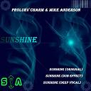 Prolurv Charm - Sunshine (feat. mike anderson)