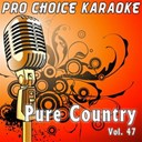 Pro Choice Karaoke - Pure country, vol. 47 (the greatest country karaoke hits)