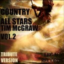 New Tribute Kings - Country allstars - tim mcgraw tribute hits, vol. 2