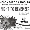 Alex Sanchez / Carlos Nicolas / Javi Martin / Jose M Duro - Night to remember