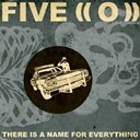 Five - There is a name for everything