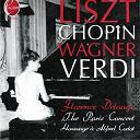 Franz Liszt / Frédéric Chopin / Giuseppe Verdi / Richard Wagner - The paris concert - hommage a alfred cortot