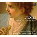 Antonio Vivaldi / Caroline Boersma / Lorenzo Cavasanti / Sergio Ciomei - Sonates pour flute seule
