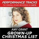 Amy Grant - Grown-up christmas list (performance tracks) - ep