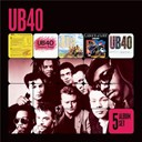 Ub 40 - 5 album set (signing off/present arms/ub44/labour of love/geffery morgan)