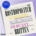 Claude Debussy / Franz Schubert / Lord Benjamin Britten / Mstislav Rostropovitch / Robert Schumann - Schubert/schumann/debussy: works for cello & piano